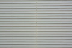 Plastic blinds. Light colour plastic blinds on the window Stock Images