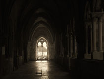 Light coming through a window Stock Photo