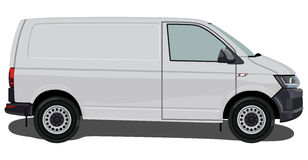 Light Commercial Vehicle Royalty Free Stock Photography