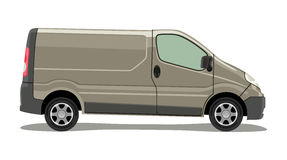 Light commercial vehicle Stock Images