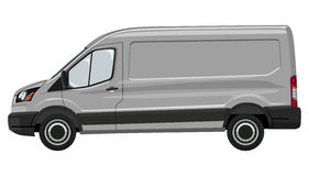 Light commercial vehicle Stock Photography