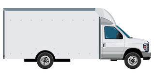 Light commercial vehicle Stock Image