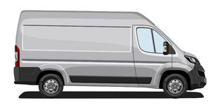 Light commercial vehicle Royalty Free Stock Image