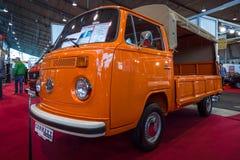 Light commercial vehicle Volkswagen Transporter T2 regular cab, 1978 stock images