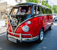 Light commercial vehicle Volkswagen Type 2. BERLIN - JUNE 05, 2016: Light commercial vehicle Volkswagen Type 2. Classic Days Berlin 2016 royalty free stock photos