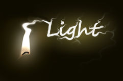 Light concept. Stock Photography