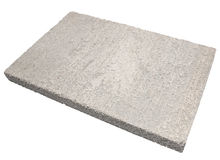 Light concrete panel Stock Photography