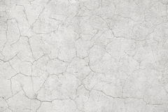 Light concrete wall with cracks Royalty Free Stock Photography