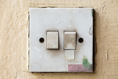 Light control switch Royalty Free Stock Photography