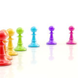 Light copyspace chess background Royalty Free Stock Photo