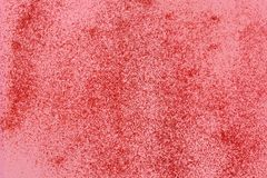 Light coral glitter twinkle abstract background with sparkles. stock images