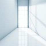 Light corridor Stock Images