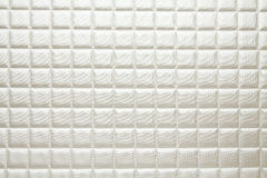 Artificial fabric texture Light Cosmic Latte white Royalty Free Stock Photography