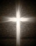 Light cross vector illustration