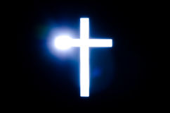 Light of Cross. Royalty Free Stock Photo