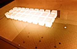 Light Cubes Stock Photos