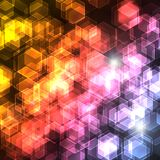Light Cubes Royalty Free Stock Photos