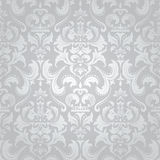 Light damask seamless floral pattern. Stock Images