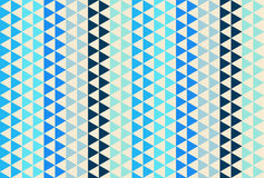 Light and dark blue triangle pattern. Seamless vector background. Light and dark blue triangle seamless vector background Royalty Free Stock Images