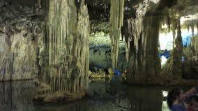 blue lights underground stock images