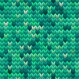 Light and dark green knit seamless pattern. EPS 10 vector Royalty Free Stock Photography
