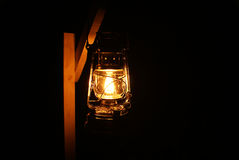 A light in the dark Stock Photography