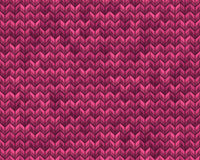 Light and dark pink knit seamless pattern. EPS 10 vector Stock Photography