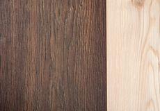 light and  dark wooden background Royalty Free Stock Image