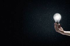 Light in darkness Royalty Free Stock Photo