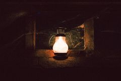 Light in darkness Stock Photo