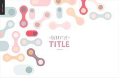 Light design banner Stock Image