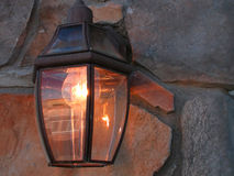 Light detail. Light up close royalty free stock image
