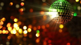 Light Disco. Seamless loop Royalty Free Stock Images