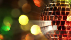 Light Disco Three. Seamless loop Stock Images