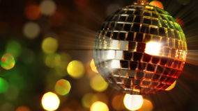 Light Disco Two. Seamless loop Stock Photos