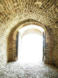 Light at the door Royalty Free Stock Images