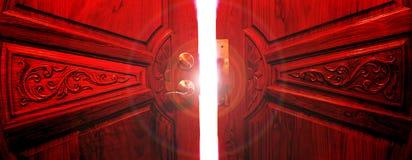 Light Door. Door into the light Royalty Free Stock Photos