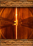 Light door bulkhead Royalty Free Stock Photos