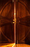 Light door Royalty Free Stock Photo
