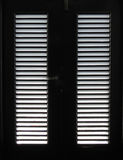 Light through Door Slats Royalty Free Stock Photos