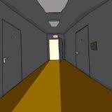Light in Doorway Stock Image