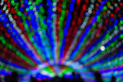 Light dots defocused. Blurs abstract Stock Images