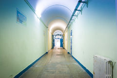The light down the hallway Royalty Free Stock Photos