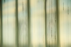 Light Through Drapes Stock Image