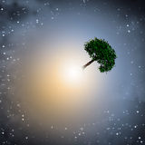 Light and earth elements Royalty Free Stock Photography