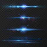 Light effect, flare, lighting. stock images
