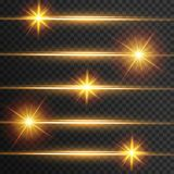 Light effect glow. Star flashed sequins. Abstract space background. Flash Highlight beam. Fantastic design stock illustration