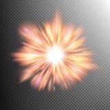 Light effect stars bursts. EPS 10 Stock Photo