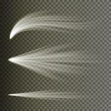 Light Effect Vector. Rays Burst Light. Isolated On Transparent Background. Vector Illustration. Light Beam Rays Vector. Light Effect Vector. Rays Burst Light Royalty Free Stock Image