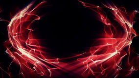 Light Effect 0413. Waves of red light undulate, blend and shine Royalty Free Stock Images